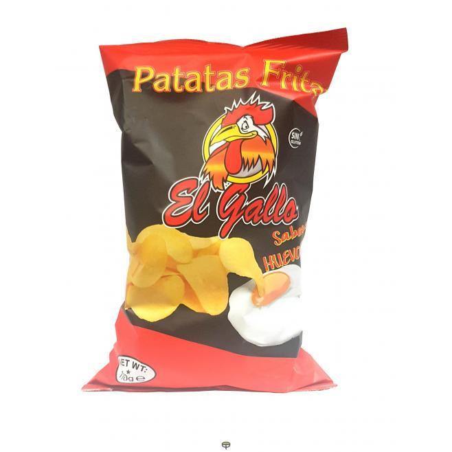 Patatas fritas al huevo, EL GALLO 110grs.