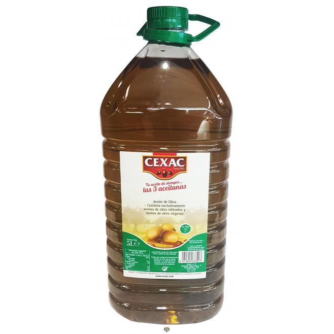 Aceite oliva intenso CEXAC gfa.5L.