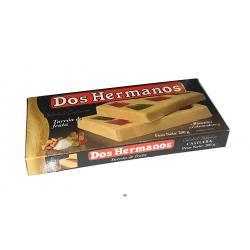Turrón de frutos DOS HERMANOS 200 gr.