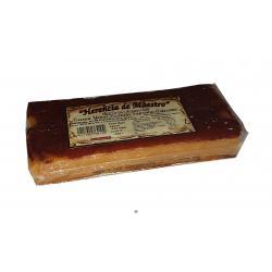 Turrón de yema tostada artesano DOS HERMANOS 450 gr.