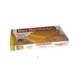 Turrón almendra blando sin azúcar DOS HERMANOS 200gr.