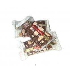 Porción chocolate con almendra DOS HERMANOS Caja de 3.5 kg.