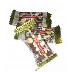 Porción chocolate con almendra sin azúcar DOS HERMANOS Caja de 3.5 kg.