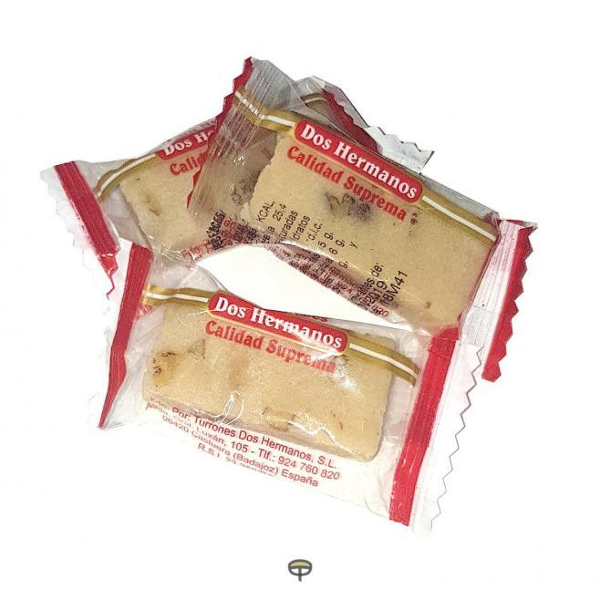 Porción de nata con nueces DOS HERMANOS Caja de 3.5 kg.