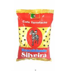 Café en grano torrefacto descafeinado SILVEIRA, 500grs.