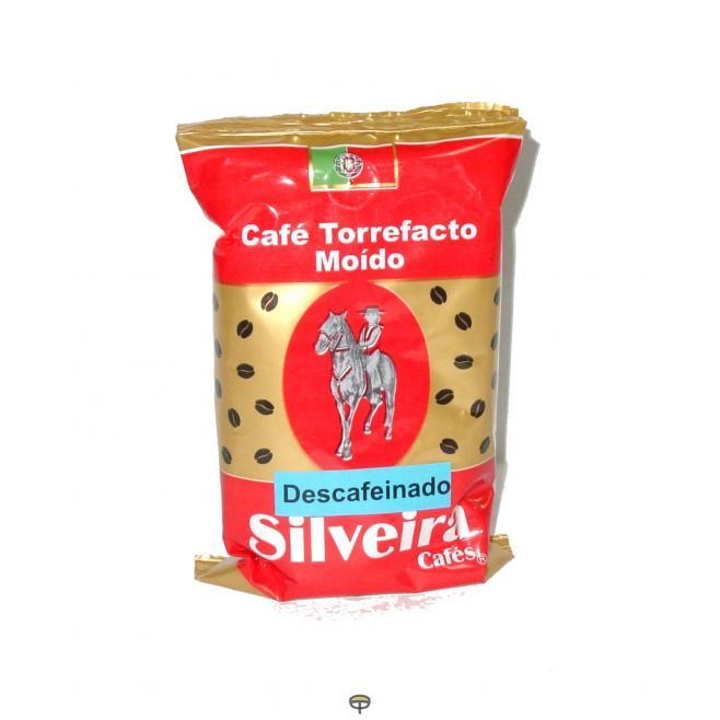 Café molido torrefacto descafeinado SILVEIRA, 250grs.