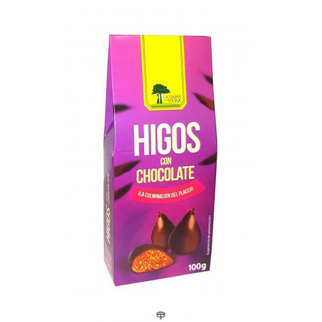 Higos con chocolate BIOVERA 100grs.