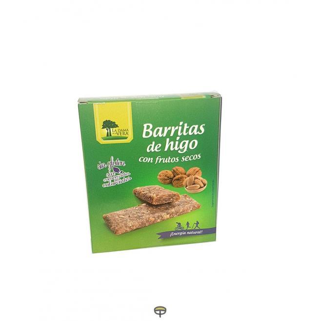 Barritas de higo con frutos secos DAMA DE LA VERA  5x24grs.