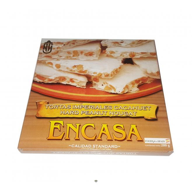 Torta de cacahuete duro ENCASA 200 gr.