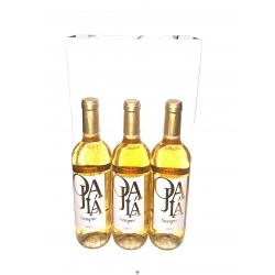 Estuche vino blanco OJALÁ 3x75cl.