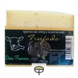 Queso de oveja madurado trufado DOÑA FRANCISCA pza.450grs. aprox