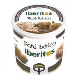 Paté ibérico IBERITOS 700 gr.