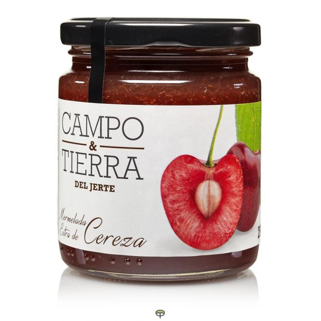 Mermelada Cereza, CAMPO & TIERRA DEL JERTE, 260 gr.