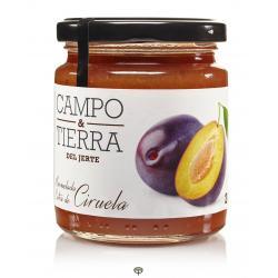 Mermelada de ciruela, CAMPO & TIERRA DEL JERTE, 260 gr.