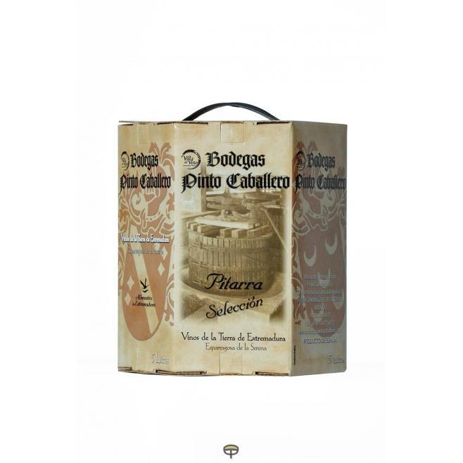 Vino blanco PITARRA box 5 L.