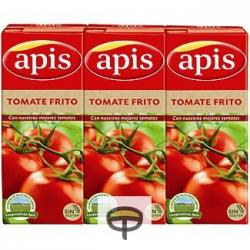 Tomate frito pack APIS 3x215 gr.