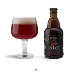 Cerveza de cereza CEREX 33 cl.