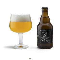 Cerveza pilsen CEREX 33 cl.