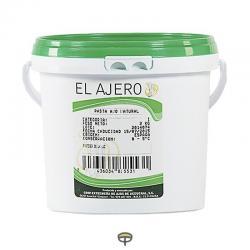 Pasta ajo natural EL AJERO cubo 2 kg.