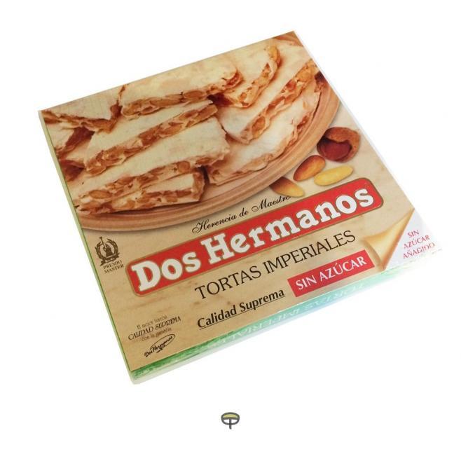 Torta imperial sin azúcar DOS HERMANOS 200 gr.