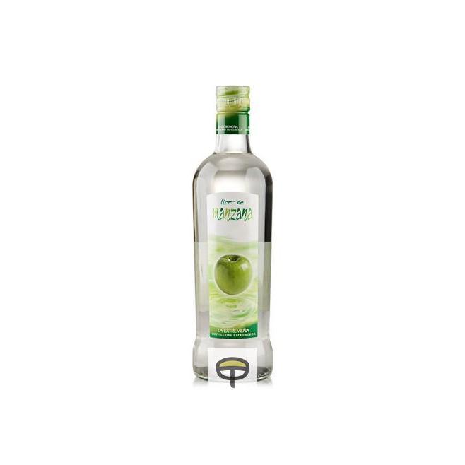 Licor de manzana verde LA EXTREMEÑA 70 cl.