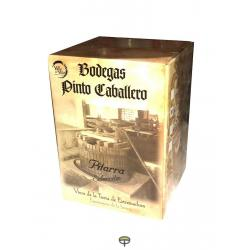 Vino tinto pitarra PINTO box 15L.