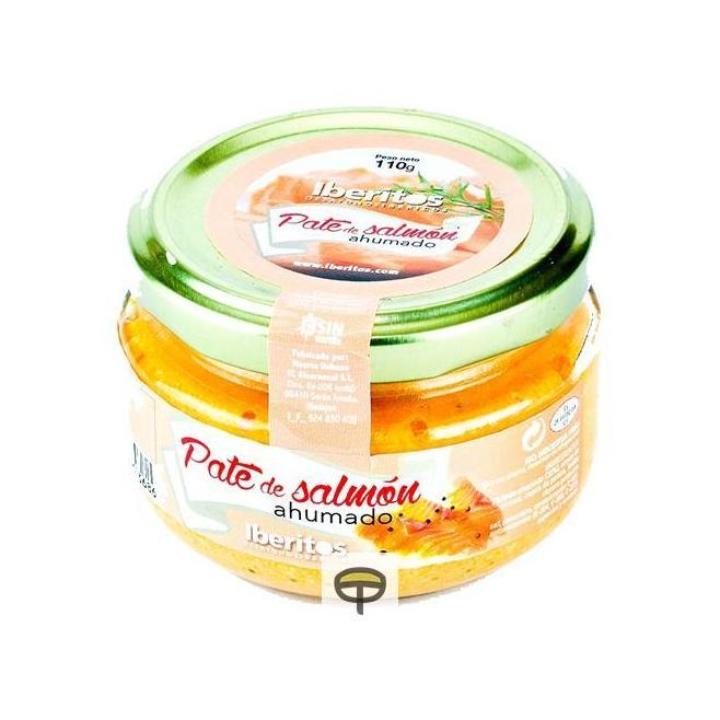 Paté de salmón ahumado IBERITOS 110 gr.