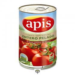 Tomate entero pelado APIS peso escurrido 480 gr.