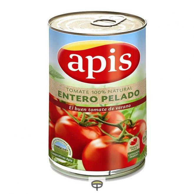 Tomate Entero Pelado, APIS, 480 gr