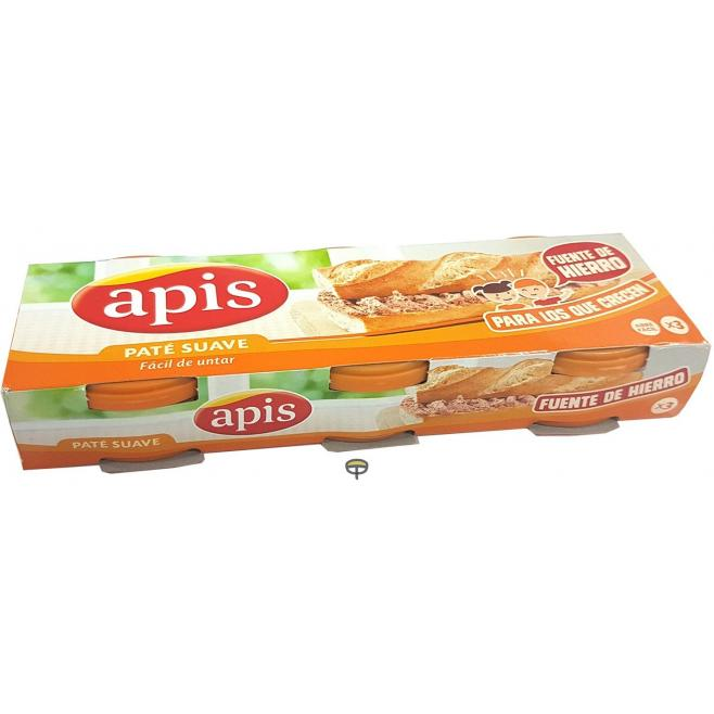 Paté, APIS, 3x80 gr.