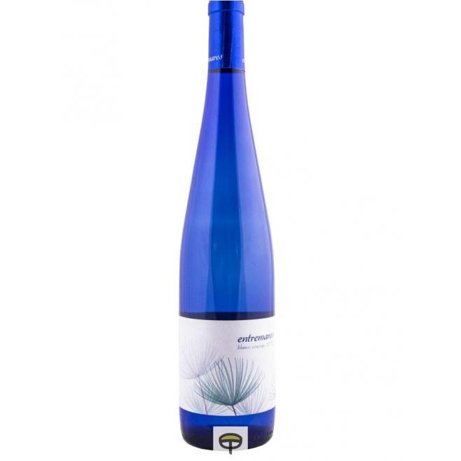 Vino blanco ENTREMARES semidulce 75 cl.
