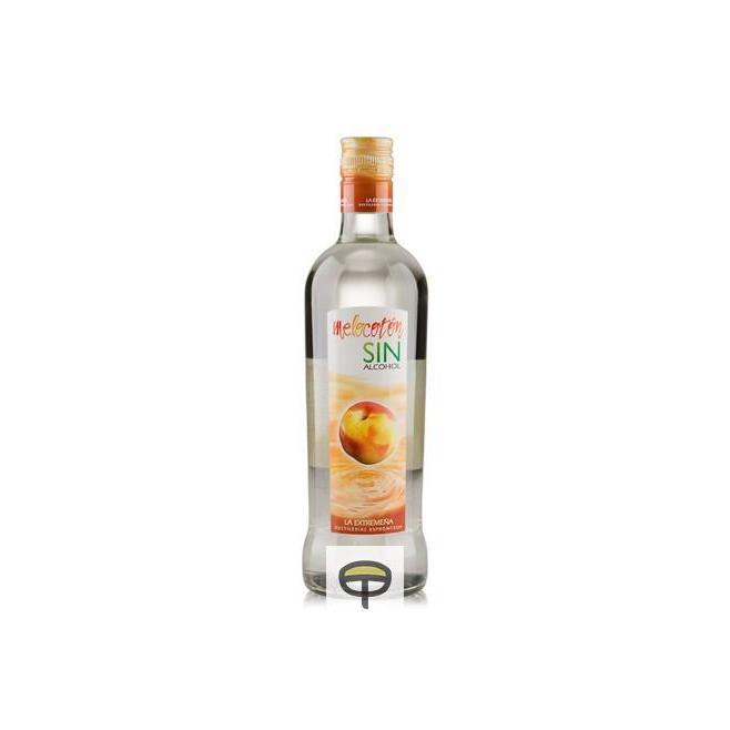 Licor de melocotón sin alcohol LA EXTREMEÑA 70 cl.
