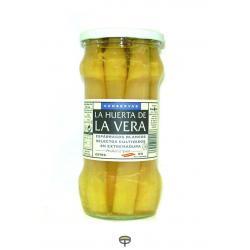 Espárragos Extra, 6/9 Piezas, LA HUERTA DE LA VERA, peso escurrido 205 gr.