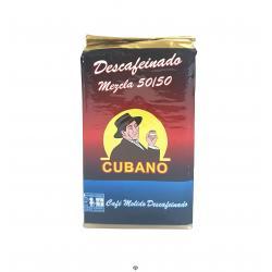 Café molido descafeinado 50/50, CUBANO, 250 gr.