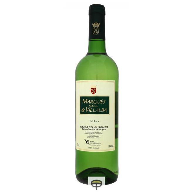 Vino blanco MARQUÉS DE VILLALBA 75 cl.