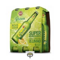 Cerveza con limón SUPER BOCK pack.6x33cl.
