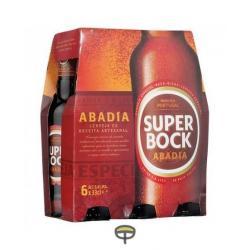 Cerveza Abadía SUPER BOCK pack.6x33cl.