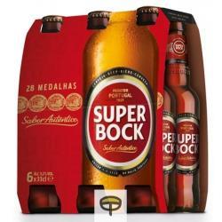 Cerveza SUPER BOCK pack.6x33cl.