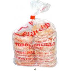 Rosca frita con azúcar LA LEANDRA 500gr.