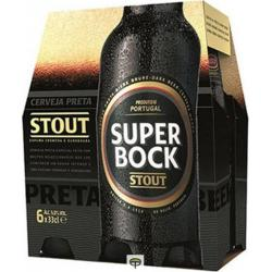 Cerveza negra  SUPER BOCK pack.6x33cl.