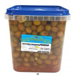 Aceituna machacada sabor tradicional FEROLIVA 4,5 kg.