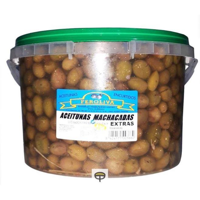 Aceitunas machada extra FEROLIVA 4,5 kg.