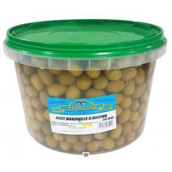 Aceitunas manzanilla sabor anchoa FEROLIVA 4,5 kg.
