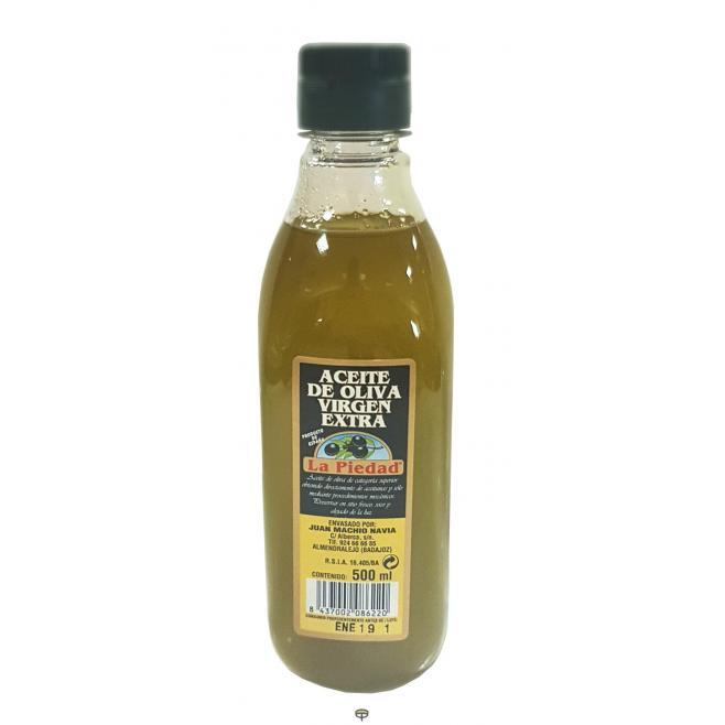 Aceite de oliva virgen extra LA PIEDAD 500 ml.