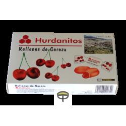 Caramelos cereza, HURDANITOS 140gr.
