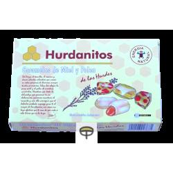 Caramelos miel y polen, HURDANITOS 140gr.