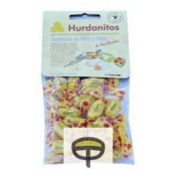 Caramelos miel y polen, HURDANITOS 85gr.